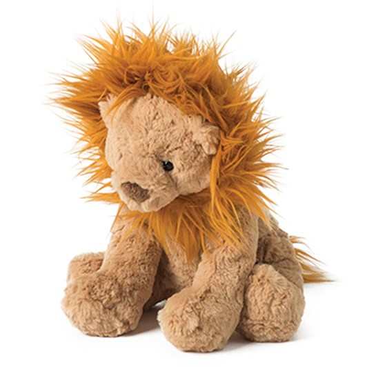 Citta Liam The Lion Brown/Ginger 28cmh