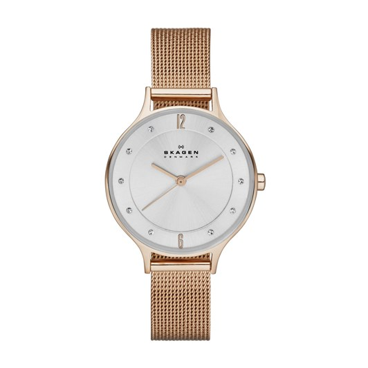 Skagen Anita Rose Gold-Tone Analogue Watch SKW2151