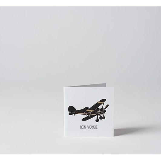 Citta Bon Voyage Card with Gold Foil Multi 10.5x10.5cmh