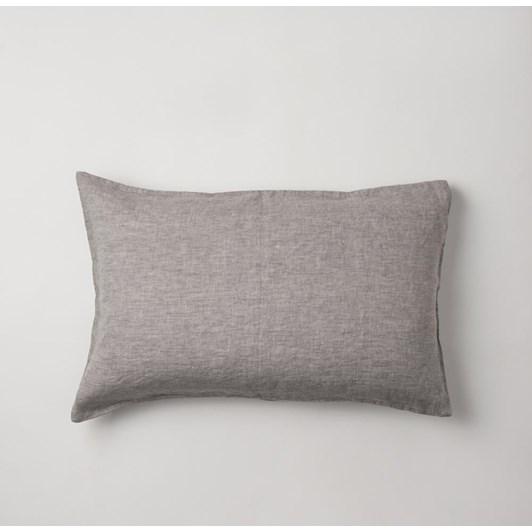 Citta Sove Chambray Linen Pillowcase Pair Ash 76x50cm