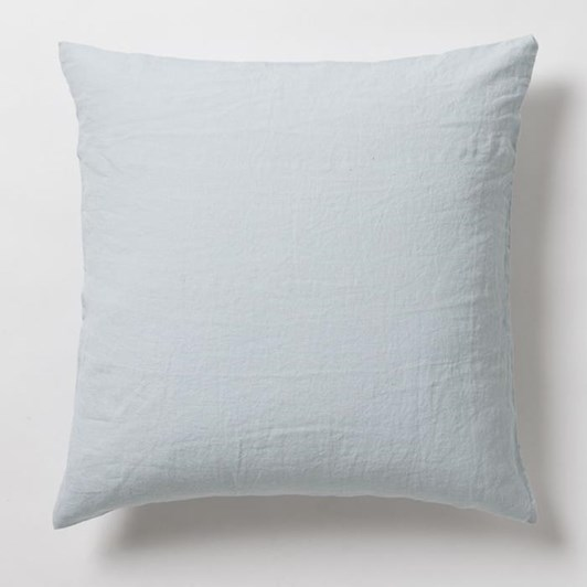 Citta Sove Linen Euro Pillowcase Duck Egg 65x65cm