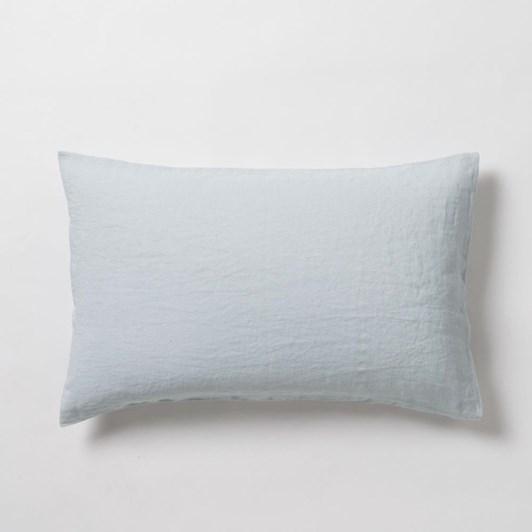 Citta Sove Linen Pillowcase Pair Duck Egg 76x50cm