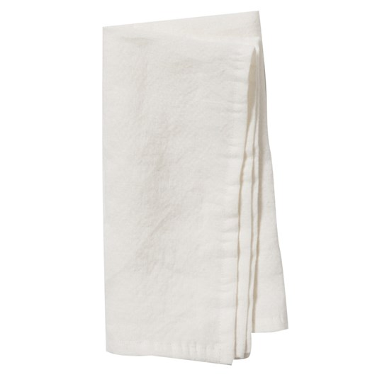 Citta Dine Linen Napkin Ecru  45x45cm