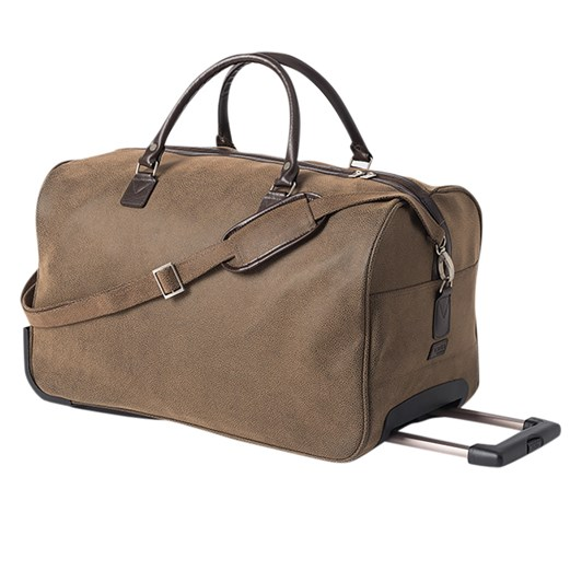 Citta Angola Trolley Bag Brown 54x28x33cmh
