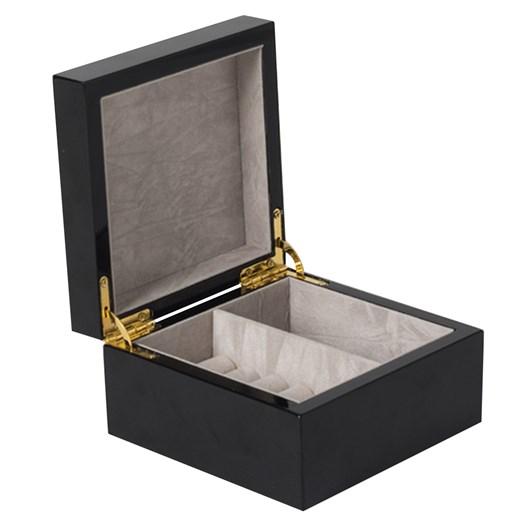 Citta Jewel Box Black Extra Small 12.5x12.5x7cmh