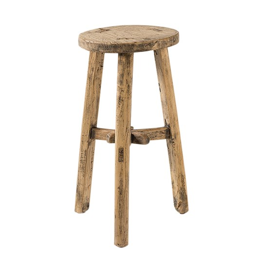 Citta Antique Round Stool Blonde