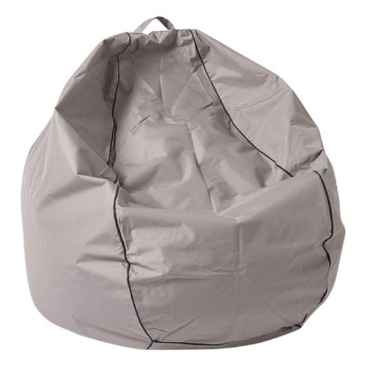 Citta Atlantic Bean Bag w/Piping Unfilled Stone 90x52x120cmh