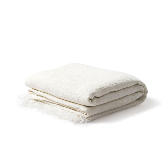 Citta Resort Linen Bedspread Ecru K/SK 260x245cm
