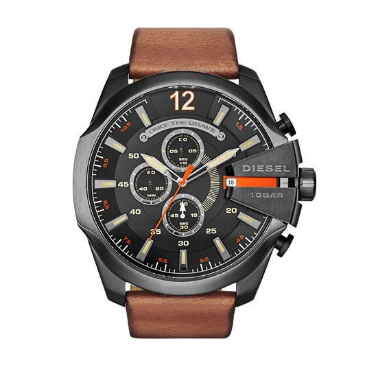 Diesel Mega Chief Brown Chronograph Watch DZ4343