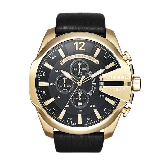Diesel Mega Chief Black Chronograph Watch DZ4344
