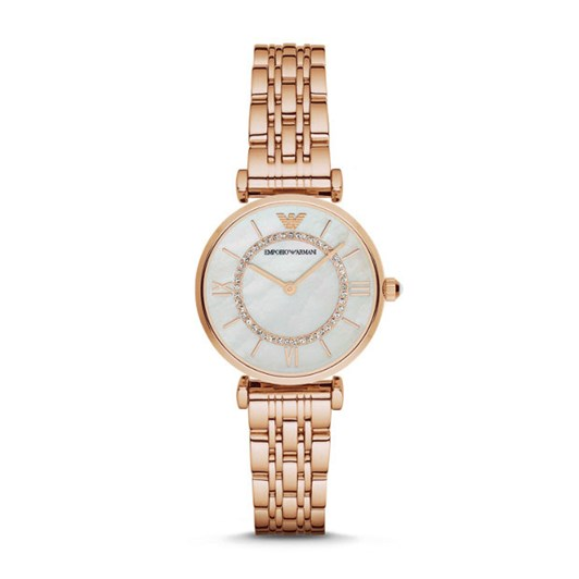 Emporio Armani Rose Gold-Tone Analogue Watch AR1909