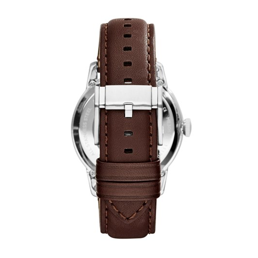Fossil Townsman Dark Brown Analogue Watch