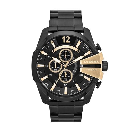 Diesel Chief Series Black Chronograph Watch