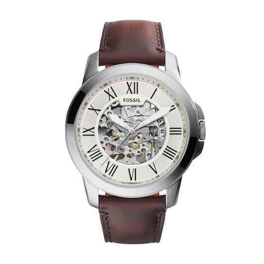 Fossil Grant Dark Brown Analogue Watch