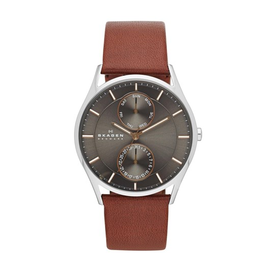 Skagen Holst Brown Analogue Watch SKW6086
