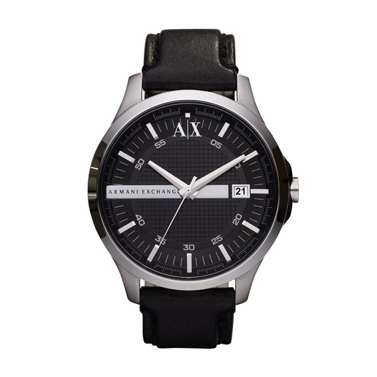 Armani Exchange Hampton Black Analogue Watch AX2101