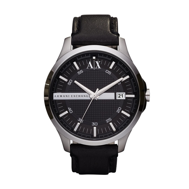 Armani Exchange Hampton Black Analogue Watch AX2101 - na