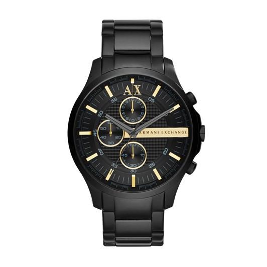 Armani Exchange Hampton Black Chronograph Watch AX2164