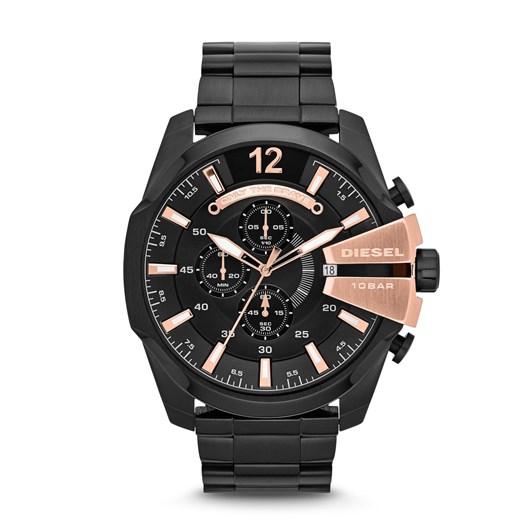 Diesel Mega Chief Black Chronograph Watch