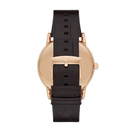 Emporio Armani Luigi Dark Brown Analogue Watch AR2502
