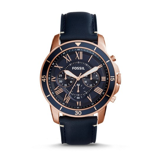 Fossil Grant Sport Blue Chronograph Watch FS5237