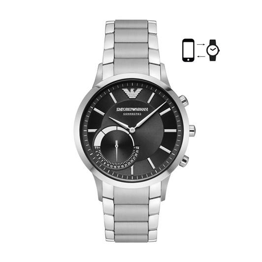 Emporio Armani Renato Silver-Tone Hybrid Smartwatch ART3000