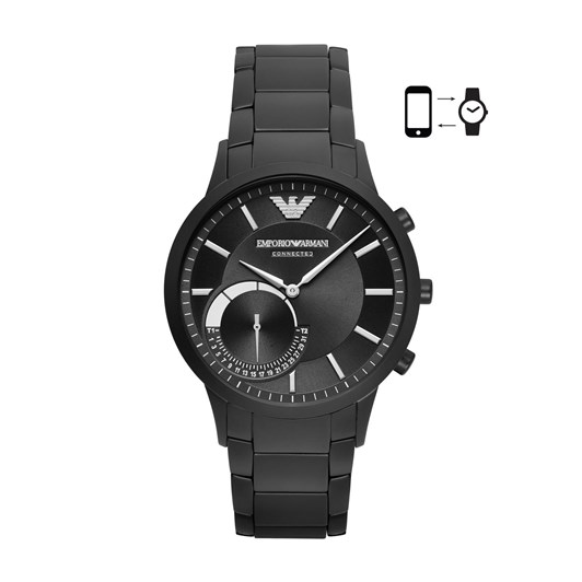 Emporio Armani Renato Black Hybrid Smartwatch ART3001