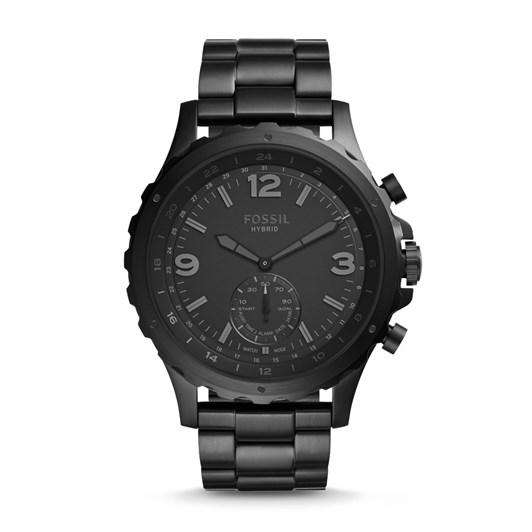 Fossil Q Nate Black Hybrid Smartwatch FTW1115