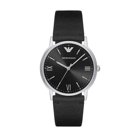 Emporio Armani Kappa Black Analogue Watch AR11013