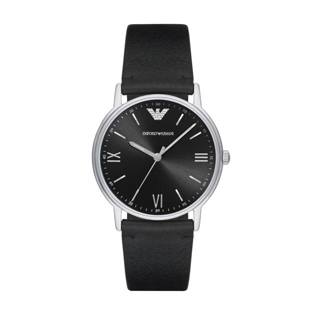 Emporio Armani Kappa Black Analogue Watch AR11013 - na