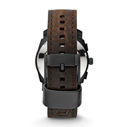Fossil Machine Dark Brown Chronograph Watch
