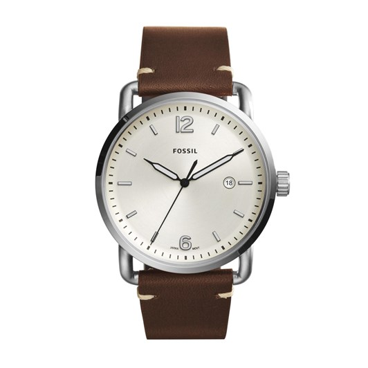 Fossil The Commuter 3h Date Dark Brown Analogue Watch FS5275