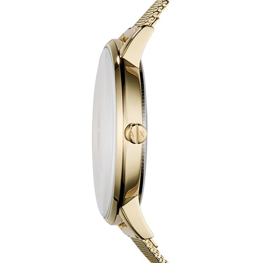 Armani Exchange Gold-Tone Analogue Watch AX5536