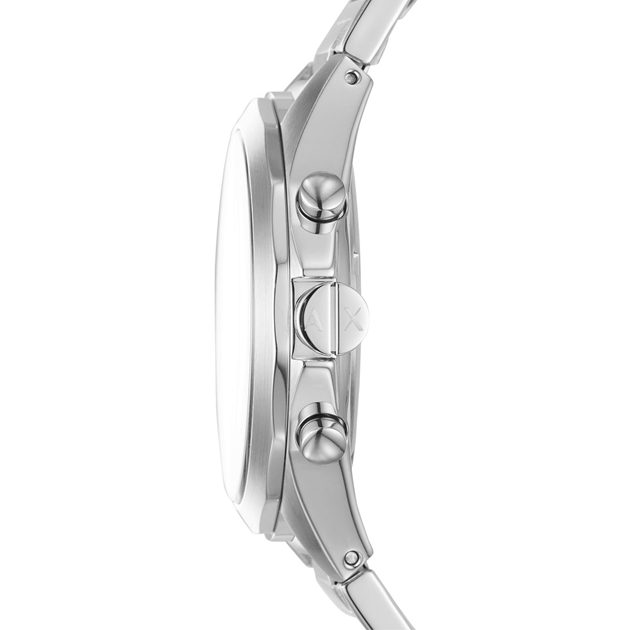 Armani Exchange Drexler Silver-Tone Chronograph Watch AX2600 - na