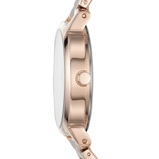 DKNY The Modernist Rose Gold-Tone Analogue Watch