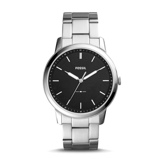 Fossil The Minimalist 3H Silver-Tone Analogue Watch FS5307