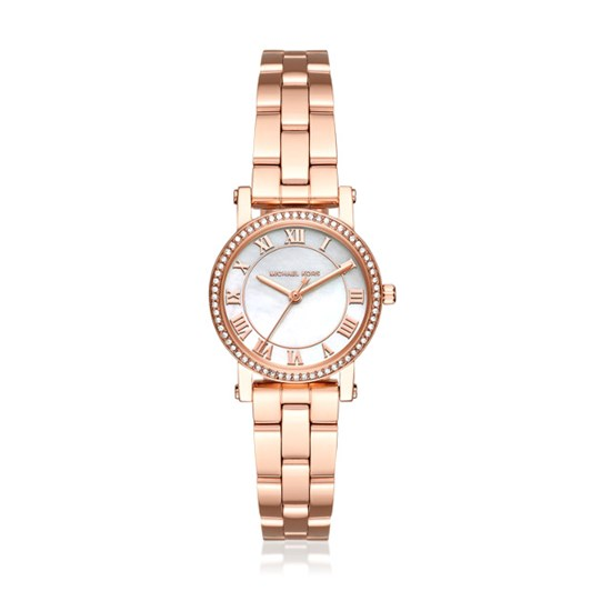Michael Kors Norie Rose Gold-Tone Analogue Watch MK3558