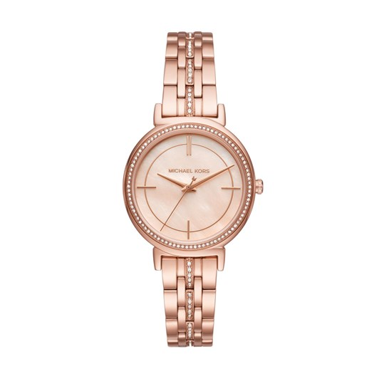 Michael Kors Cinthia Rose Gold-Tone Analogue Watch MK3643