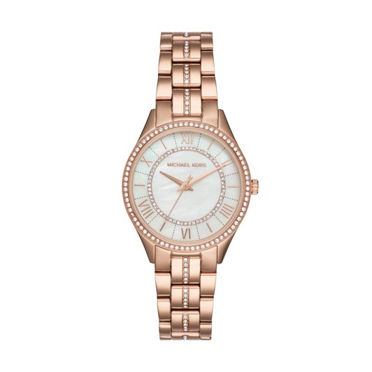 Michael Kors Lauryn Rose Gold-Tone Analogue Watch