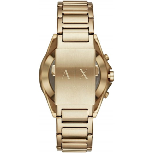 Armani Exchange Men's Hybrid Smartwatch, Gold Tone, 44mm AXT1008