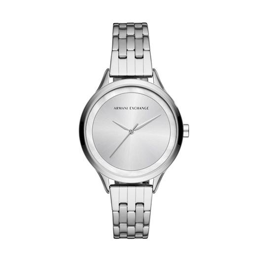 Armani Exchange Silver-Tone Analogue Watch
