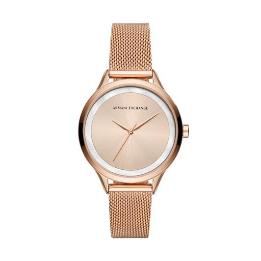 Armani Exchange Rose Gold-Tone Analogue Watch