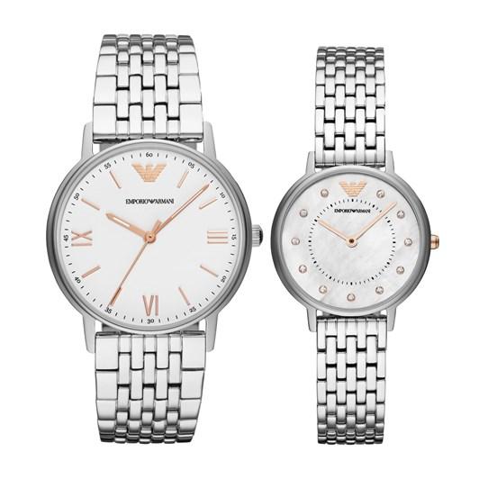 Emporio Armani Kappa Silver Watch Set AR80014