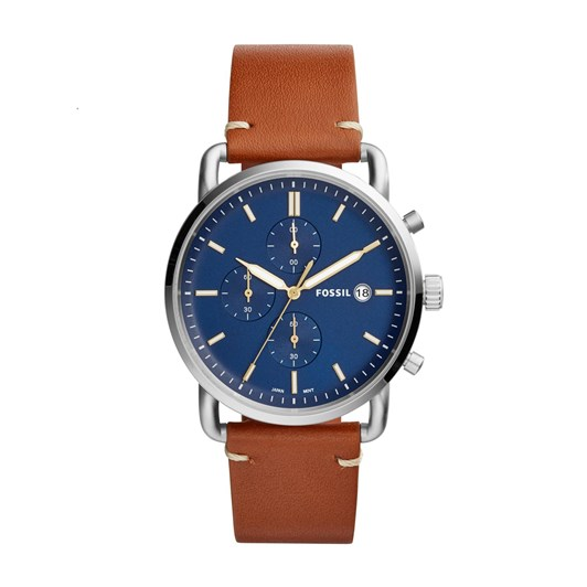 Fossil The Commuter Chrono Brown Chronograph Watch