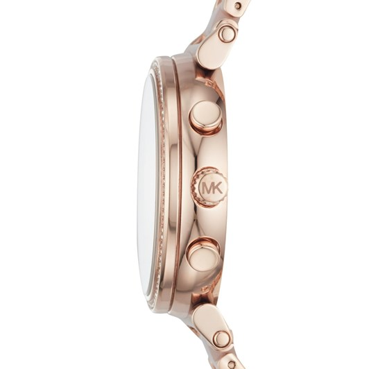 Michael Kors Sofie Rose Gold-Tone Chronograph Watch MK6560
