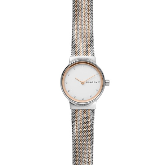 Skagen Freja Two Tone Analogue Watch SKW2699