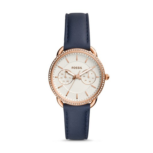 Fossil Tailor Blue Analogue Watch ES4394