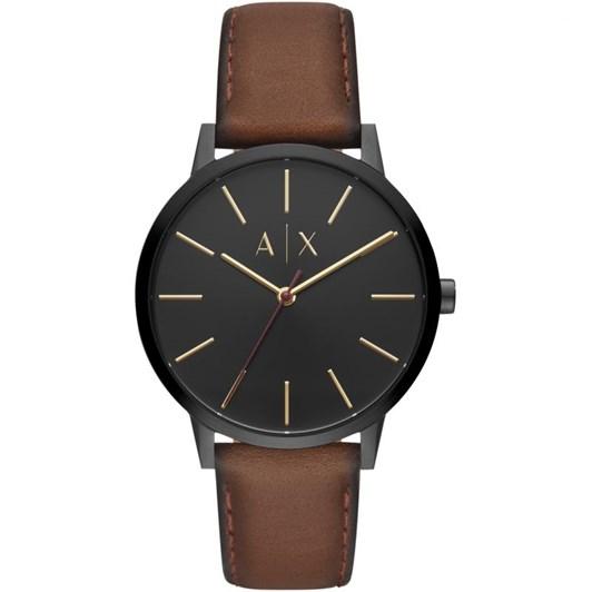 Armani Exchange Cayde Black Analogue Watch AX2706
