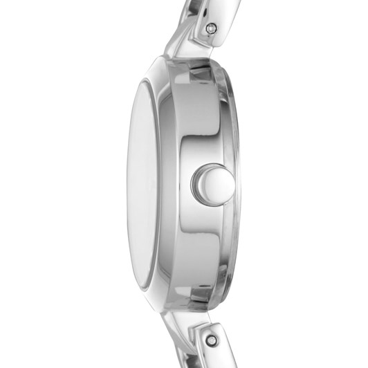 DKNY City Link Silver-Tone Analogue Watch