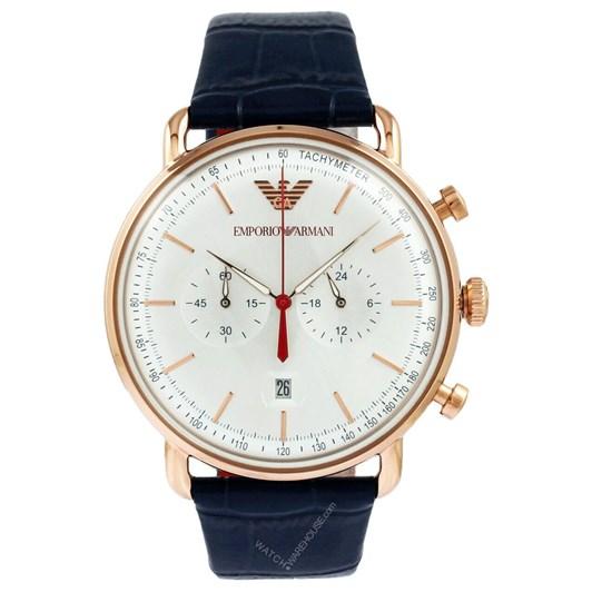 Emporio Armani Blue Chronograph Watch AR11123